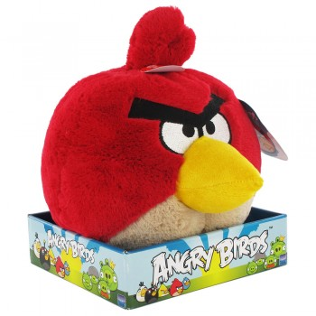 Membuat Boneka Angry Birds dari Kain Velboa