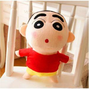 Membuat Boneka Crayon Shin-Chan dari Kain Bahan Velboa