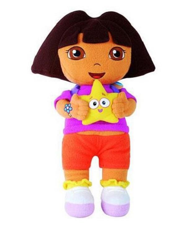Membuat Boneka Dora the Explorer dari Kain Velboa