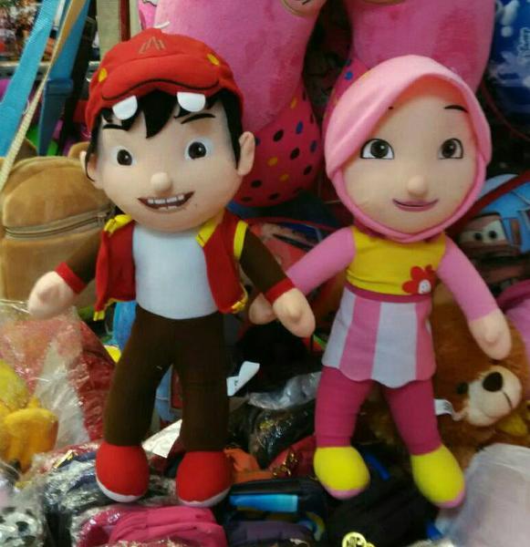 Membuat Boneka BoBoiBoy dari Kain Velboa