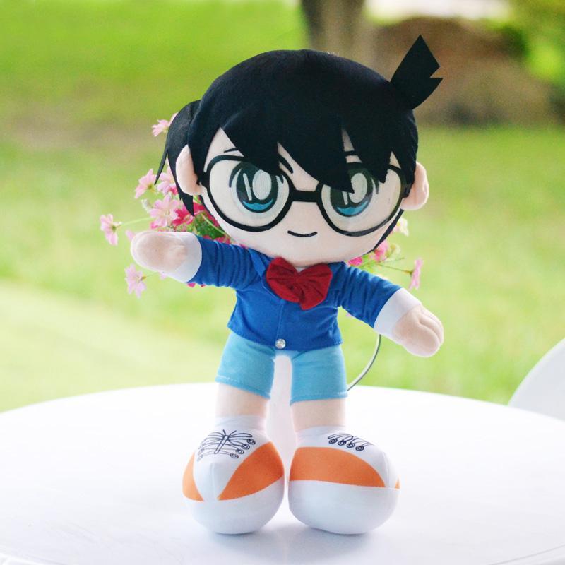 Membuat Boneka Detective Conan dari Kain Velboa