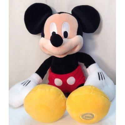Membuat Boneka Mickey Mouse dari Kain Velboa