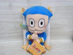 Membuat Boneka Ninja Hattori dari Kain Velboa