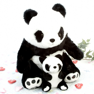 Membuat Boneka Panda dari Kain Velboa