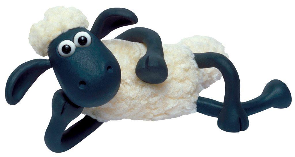 Membuat Boneka Shaun the Sheep dari Kain Velboa