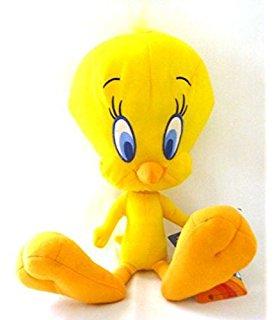 Membuat Boneka Tweety Bird dari Kain Velboa