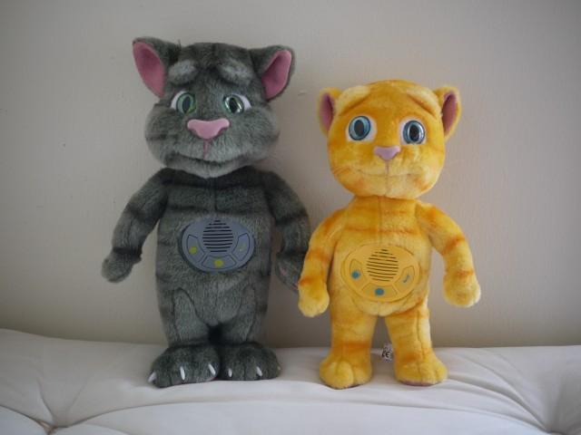 Membuat Boneka Boneka Talking Tom and Friends Dari Kain Velboa