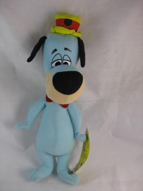 Membuat Boneka Huckleberry Hound Dari Kain Velboa