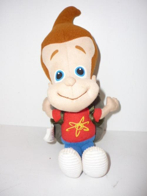 Membuat Boneka Jimmy Neutron dari Kain Velboa