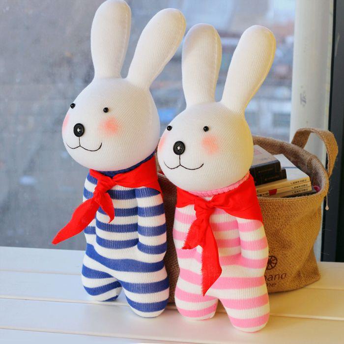Membuat Boneka Kelinci Dari Kain Velboa