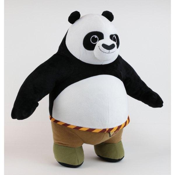 Membuat Boneka Kungfu Panda dari Kain Velboa