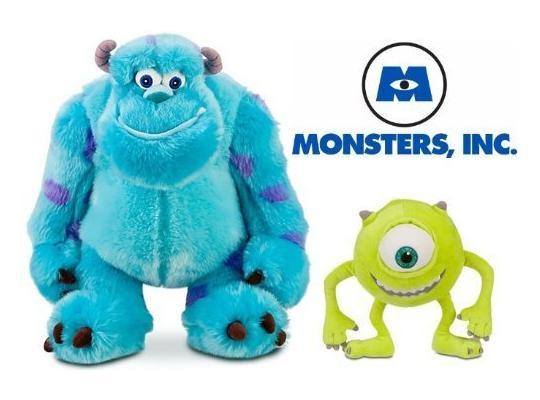 Membuat Boneka Monster Inc dari Kain Velboa