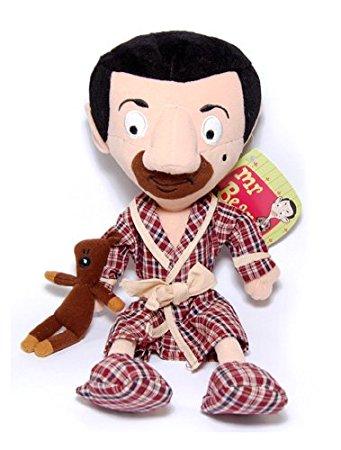 Membuat Boneka Mr Bean dari Kain Velboa