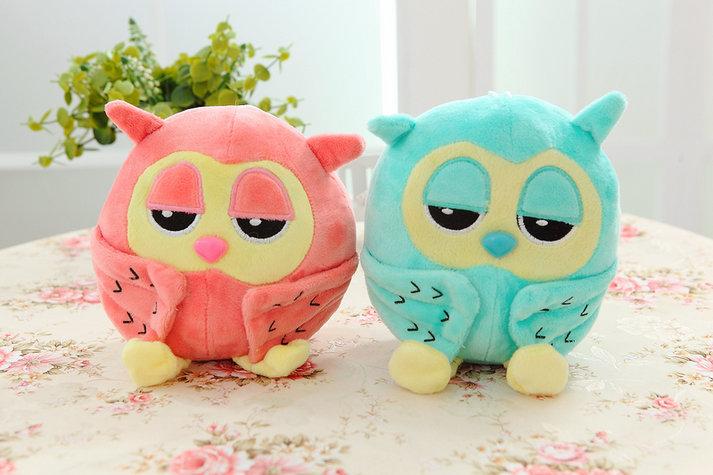 Membuat Boneka Owl Dari Kain Velboa Motif