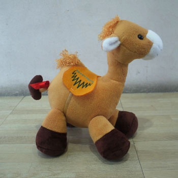 Membuat Boneka Unta Dari Kain Velboa