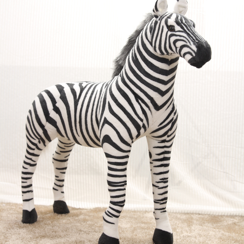 Membuat Boneka Zebra Dari Kain Velboa Motif