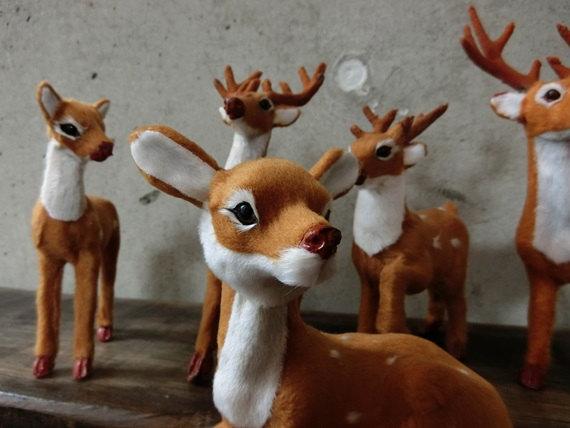 Membuat Boneka Hewan Rusa Dari Kain Velboa