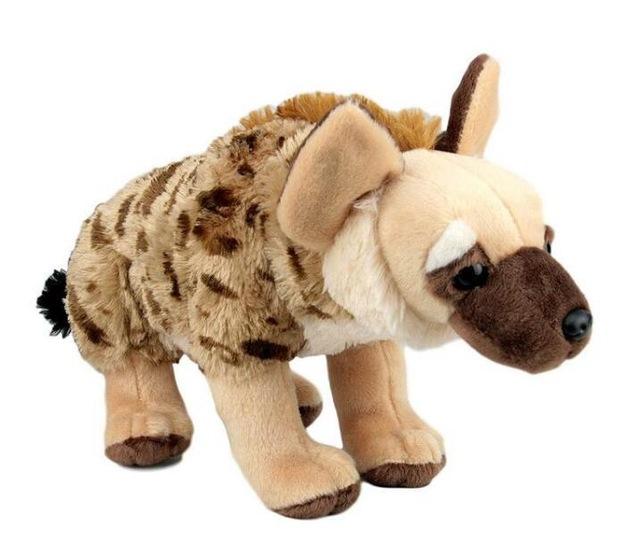 Membuat Boneka Hyena Dari Kain Bulu Rasfur