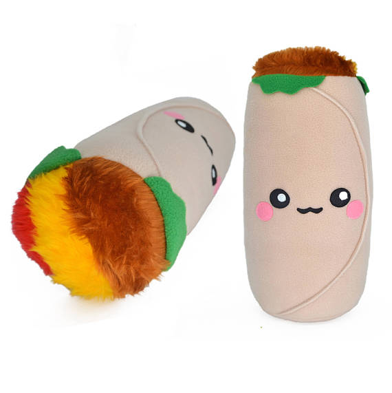 Produsen Boneka Burrito Meksiko Kekinian