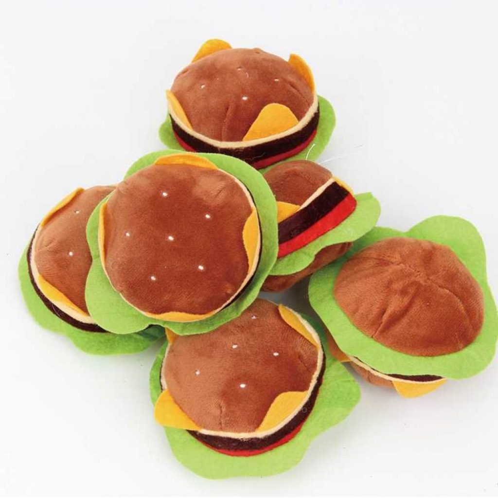 Boneka Hamburger Mc Donald Lucu