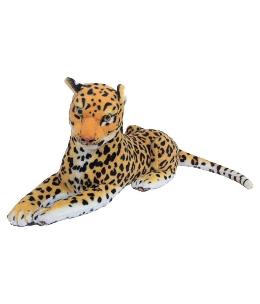 Membuat Boneka Macan Tutul dari Velboa Import