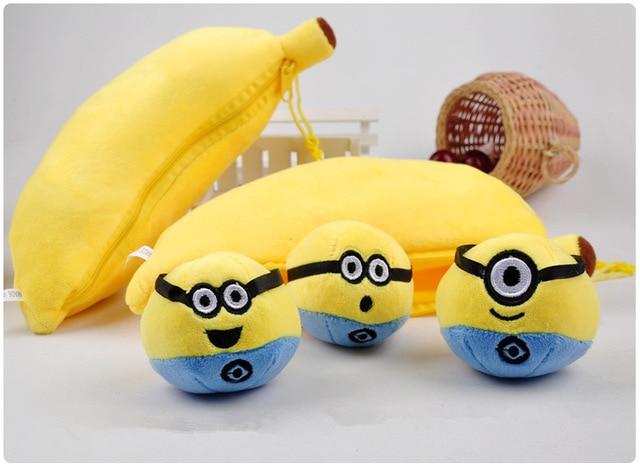 Minions Banana Plush Toy Unik Dari Velboa