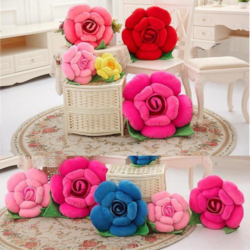 Bantal Bunga Imut Kekinian Inspirasi di Rumah
