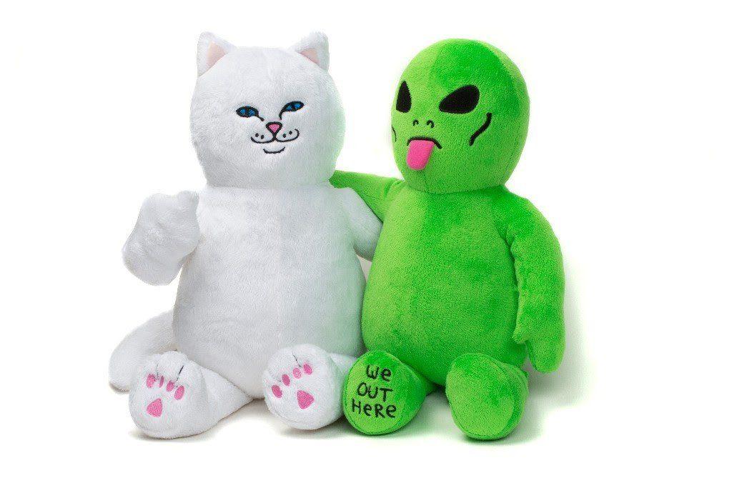 Boneka Custom Alien and The Cat