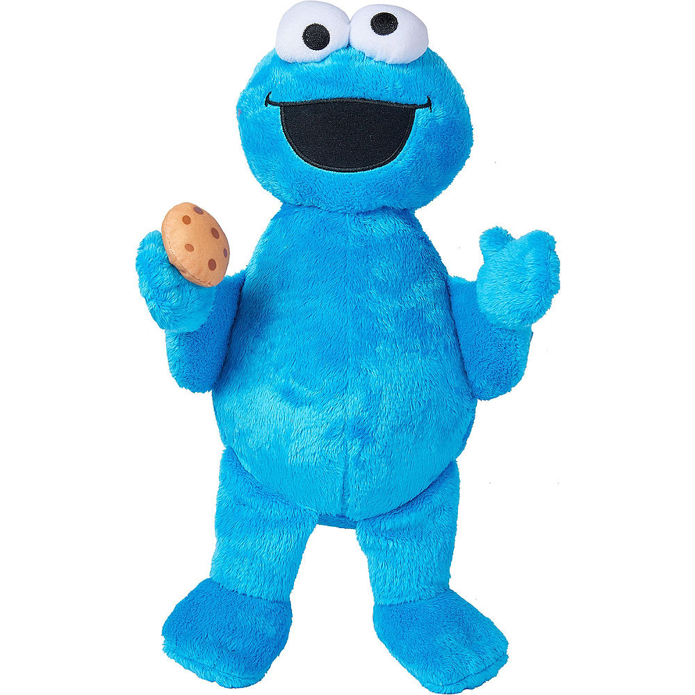 Boneka Elmo Monster Biru Rasfur