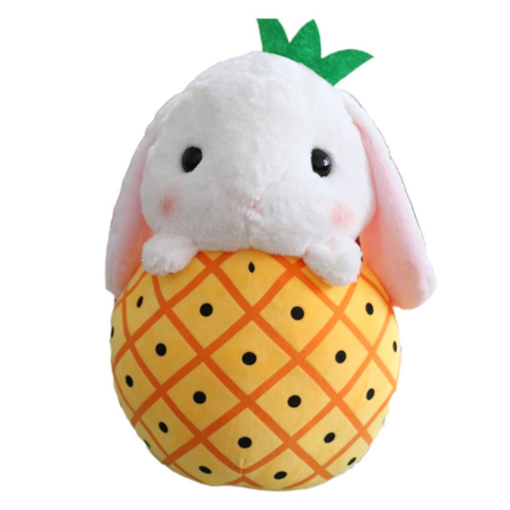 Lucunya Boneka Custom Kelinci Dalam Nanas