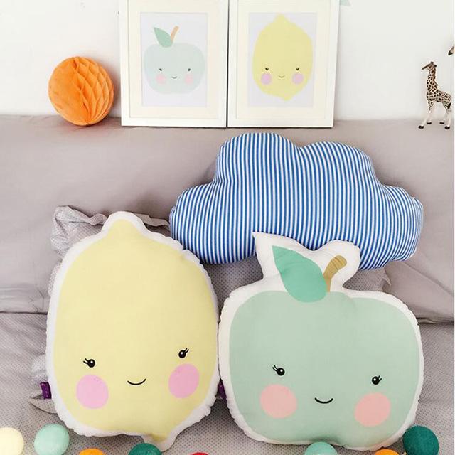 Bantal Custom Apple Toys Kids