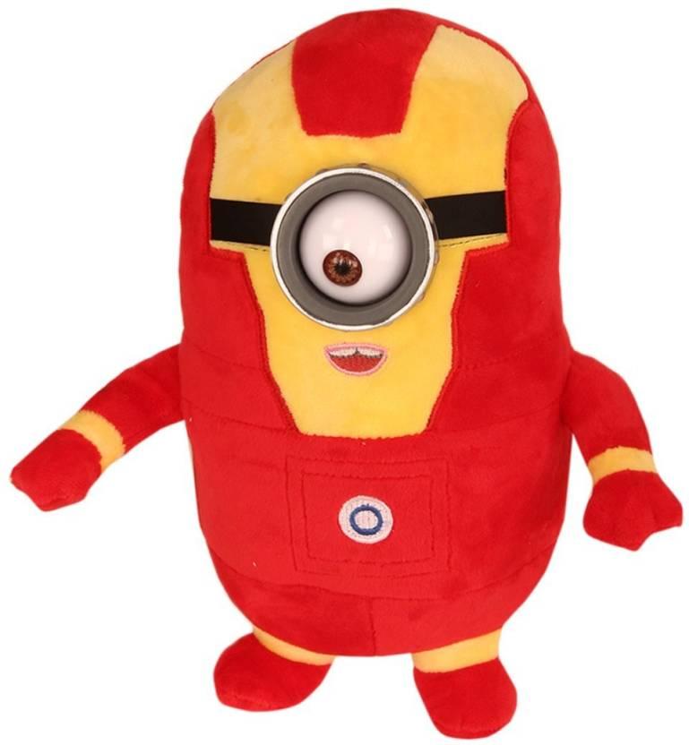 Red Minion Despicable Me Plush Doll Kekinian