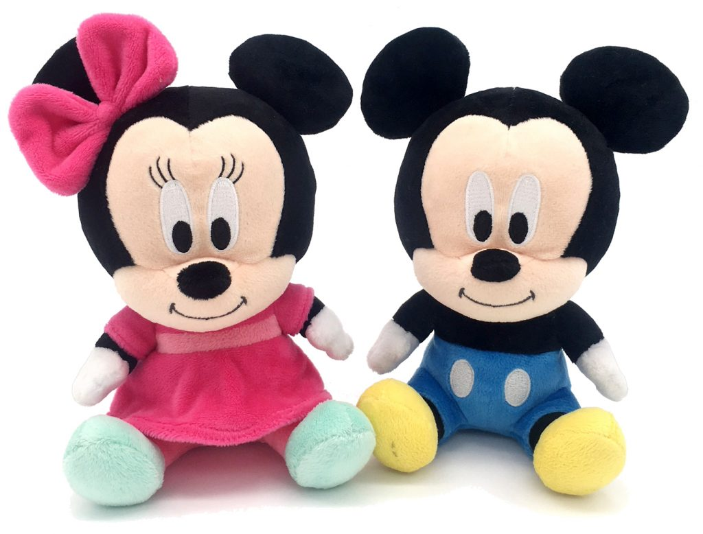 Couple Mickey and Minnie Mouse Lucu