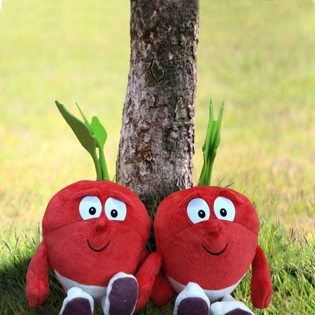 Kids Toys Red Apple Cute Collection