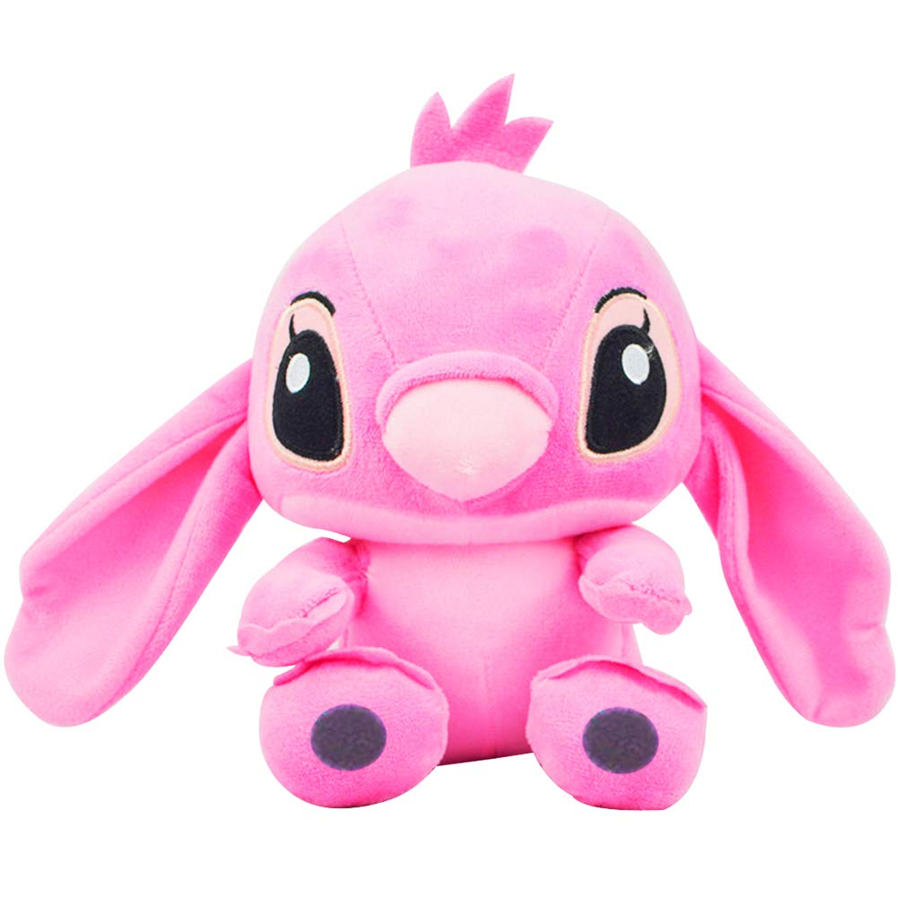 Stitch Pink Plush Doll Lucu