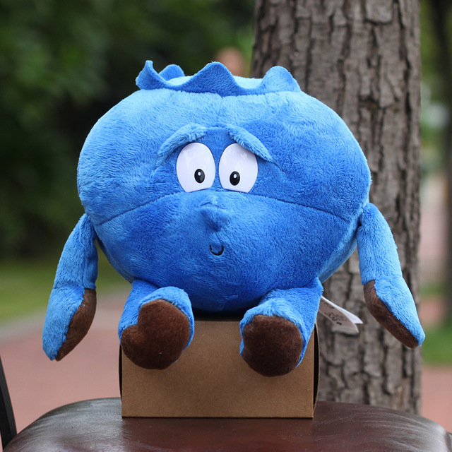 Vegetable Cauliflower Mushroom Blueberry Plush Doll