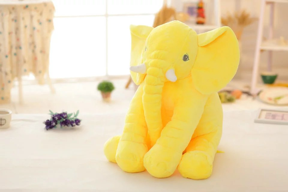 Yellow Elepant Plush Doll Koleksi Anak
