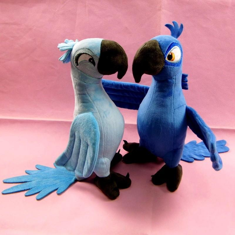 Blue Parrot Plush Toys Gifts for Baby