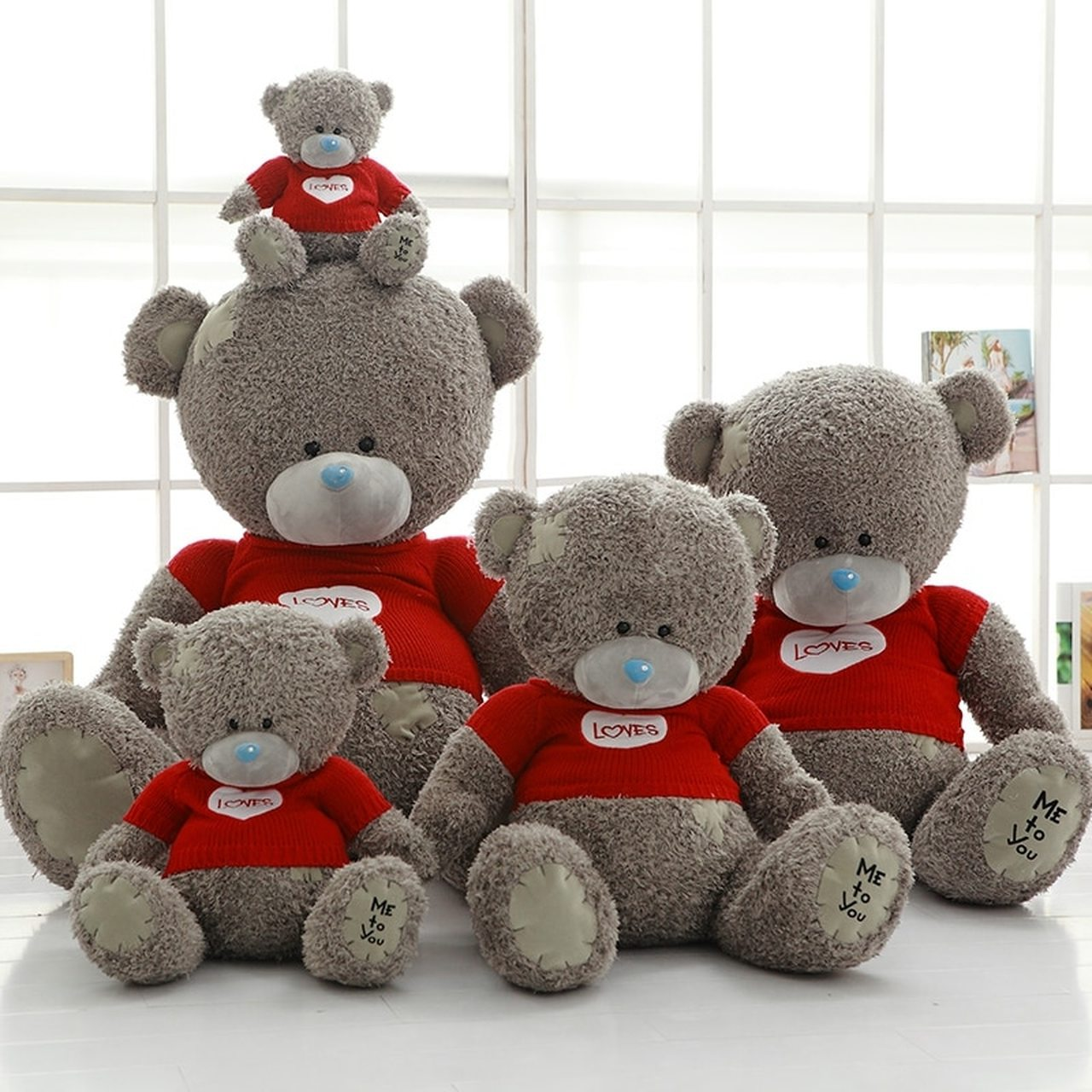 Cute Bear Set Baby Toy