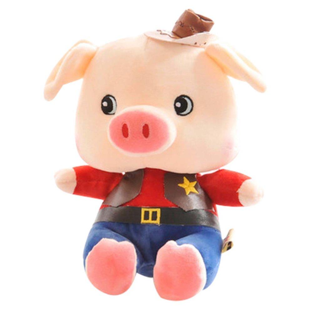 Boneka Pinky Pig Koboi Lucu