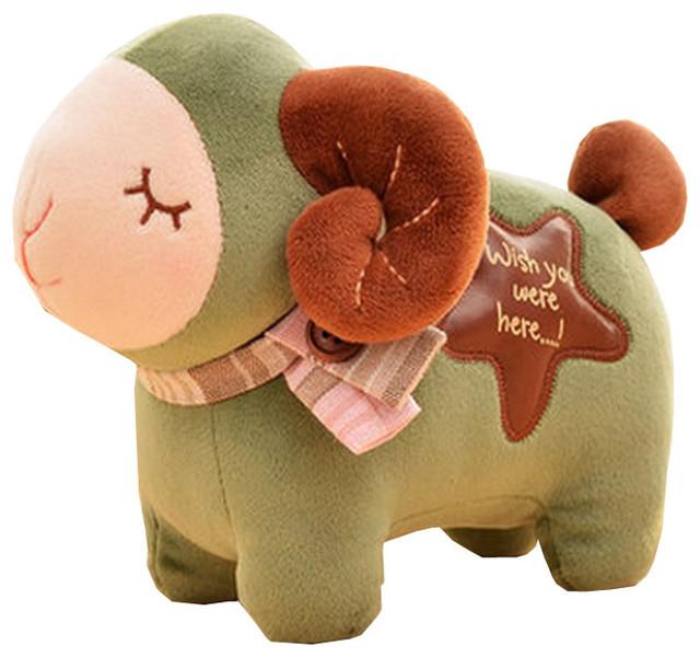 Cute Green Lamb Plush Doll