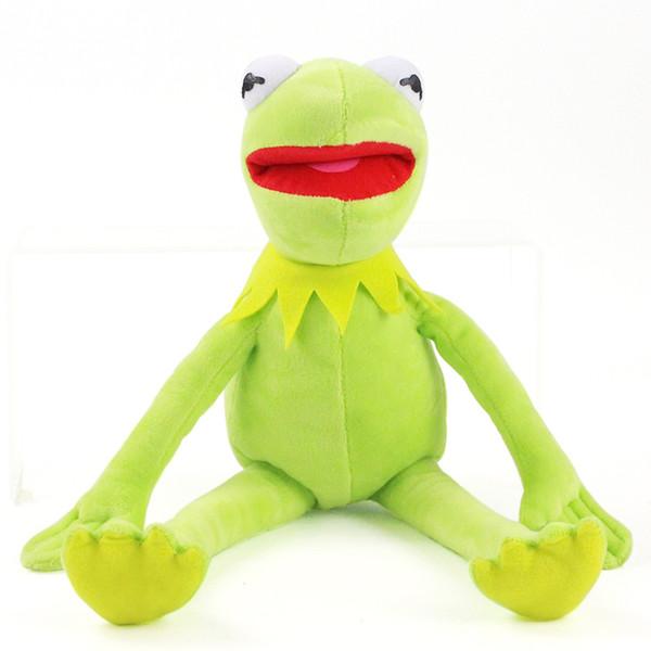 Green Frog Plush Toy Unik