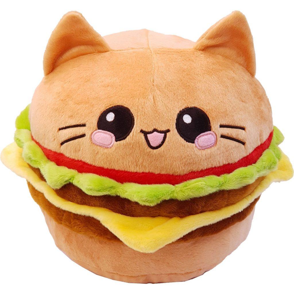 Burger Cat Imut dan Unik