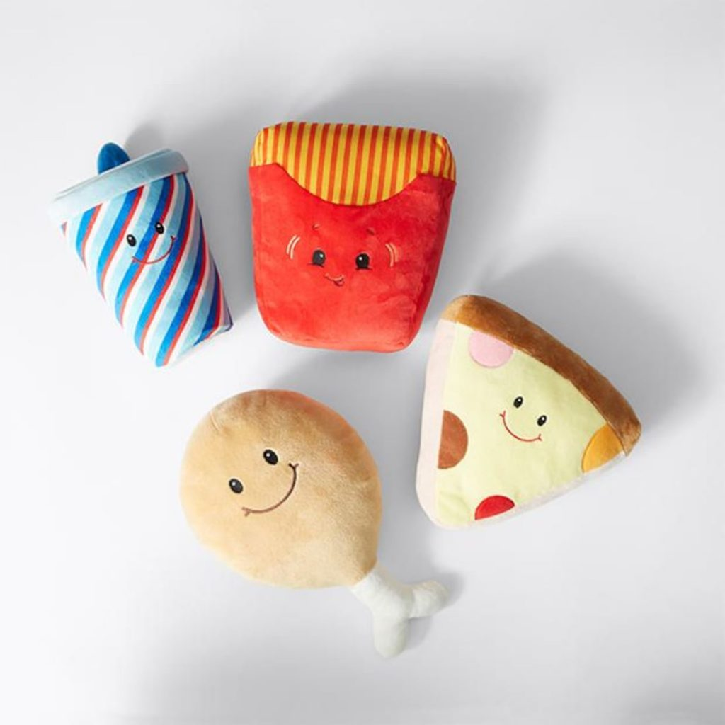Cute Food and Beverage Plush Toys