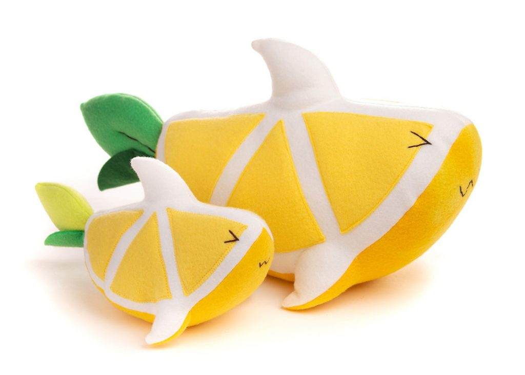 Cute Lemon Plush Toys Unik