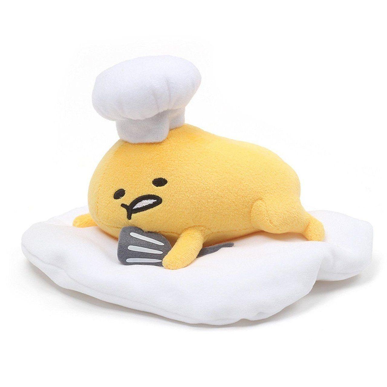 Lazy Egg Plush Toy Lucu