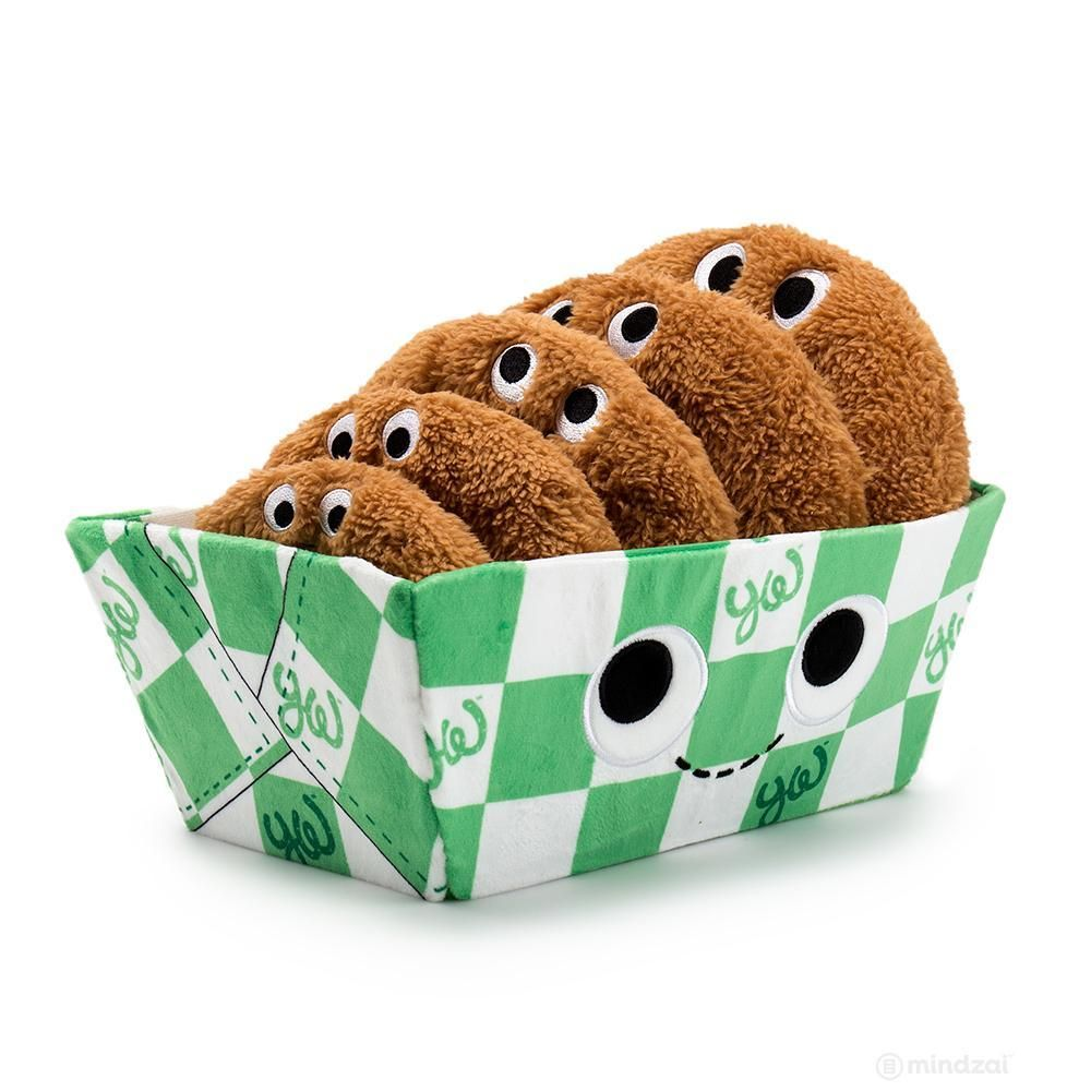 Set Cookies in Cute Green Bucket
