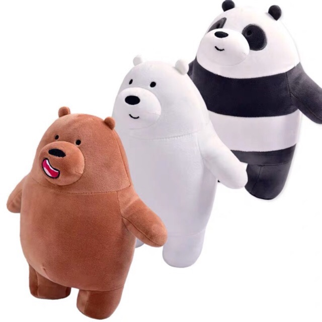 Set Duo Bear and Panda