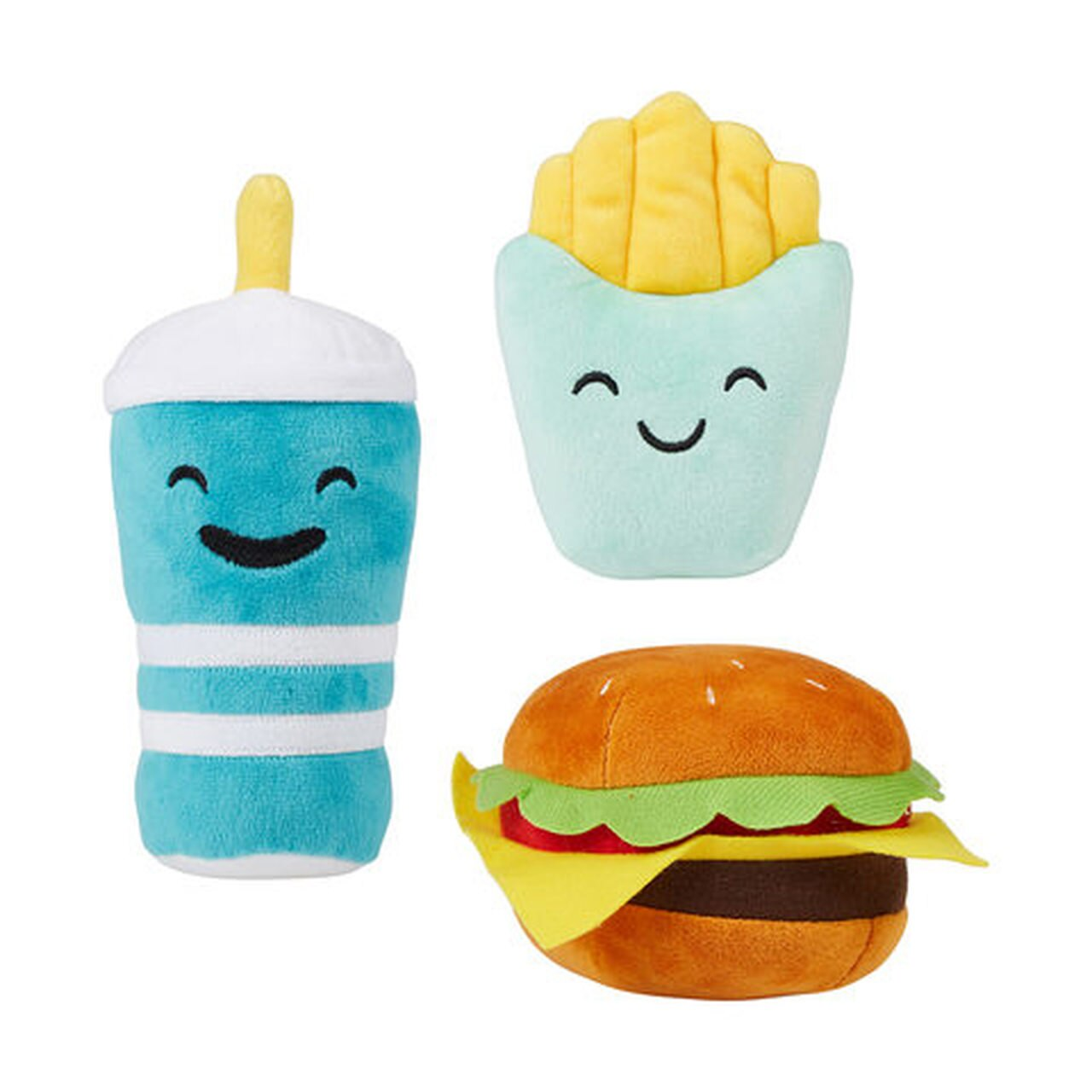 Set Makanan Cepat Saji Burger French Fries dan Pepsi